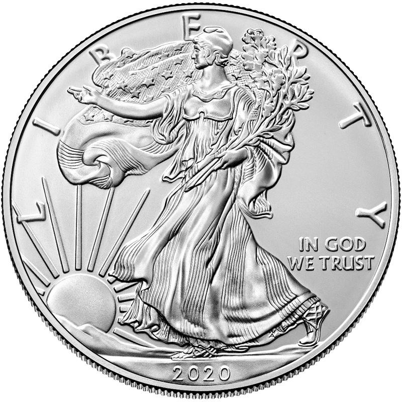 2020 1oz American Eagle Silver Coin