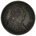 1812 George III Silver Eighteenpence Bank Token