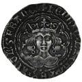 1422-7 Henry VI Silver Fourpence Annulet Issue - Calais Mint