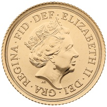 2020 Gold Half Sovereign