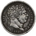 1816 George III  Silver Shilling