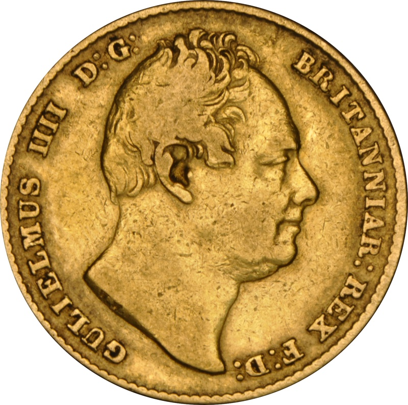 1832 Gold Sovereign - William IV NGC VF35