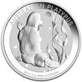 1oz Platinum Platypus 2012