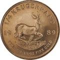 1989 Quarter Ounce Gold Krugerrand