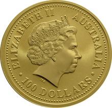 2004 1oz Gold Australian Year of the Monkey