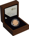 2011 UK Cardiff £1 One Pound Gold Proof Coin Boxed