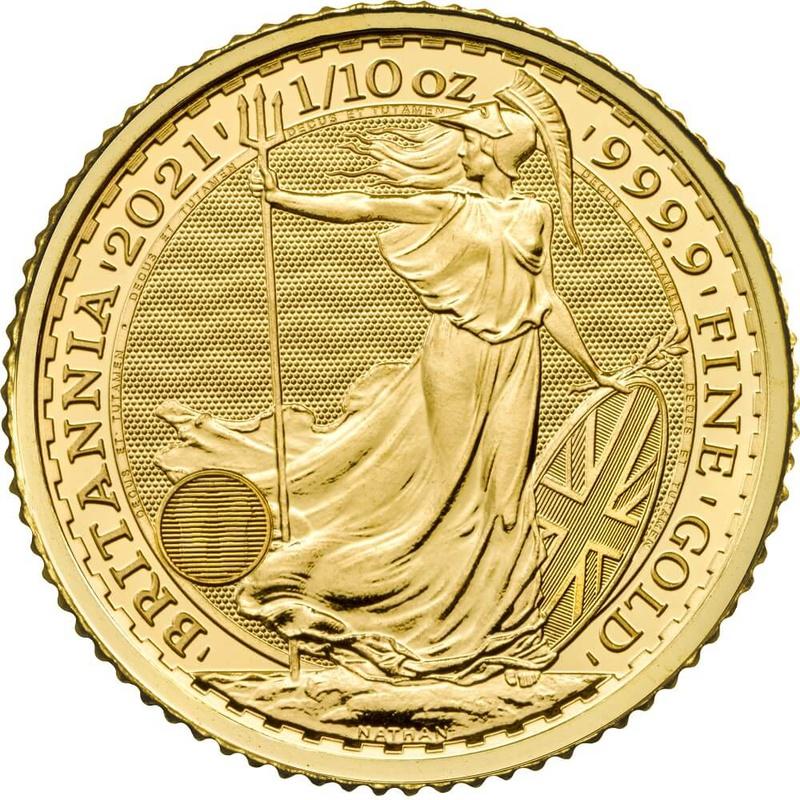 2021 Tenth Ounce Gold Britannia