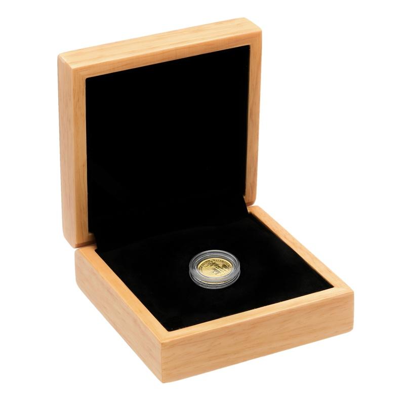 2019 Tenth Ounce Gold Britannia Gift Boxed