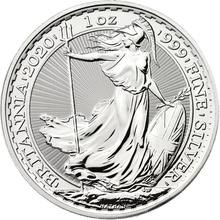 2020 Britannia One Ounce Silver Coin