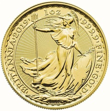 2019 Britannia One Ounce Gold Coin