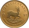 1997 Proof Half Ounce Krugerrand Gold Coin