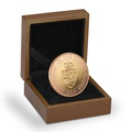2013 £2 Two Pound Proof Gold Coin: The 350th Anniversary of the Guinea Boxed