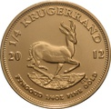 2012 Quarter Ounce Gold Krugerrand