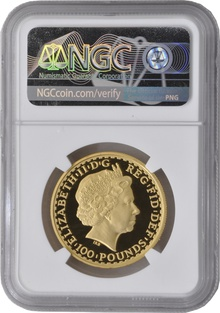 2002 One Ounce Proof Britannia Gold Coin NGC PF70