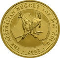 2002 1oz Gold Australian Nugget