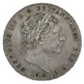 1819 LIX George III Silver Milled Crown