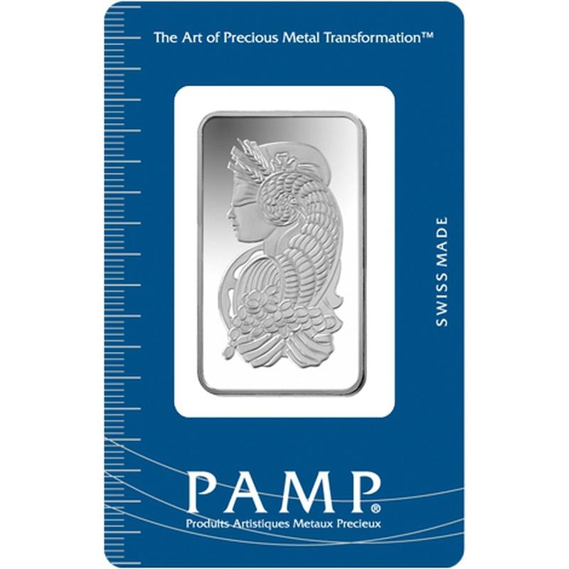 PAMP 20 Gram Silver Bar Minted