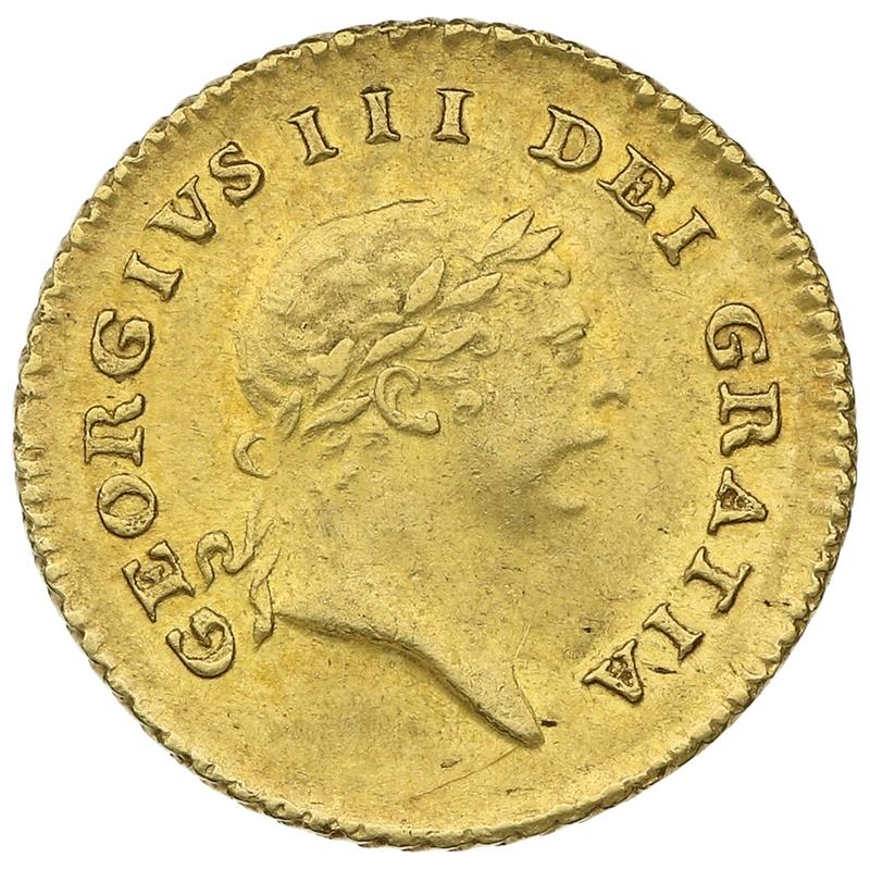 1810 George III Third Guinea Gold Coin