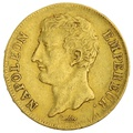 AN12 20 French Francs - Napoleon (I) Transitional Bust - A