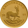 2001 1oz Gold Proof Krugerrand