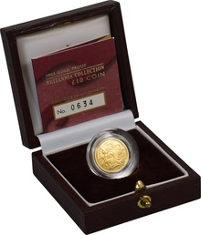 2003 Proof Britannia Tenth Ounce Boxed