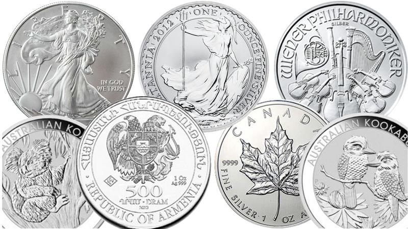 Grade B - 1oz Silver Coins Best Value