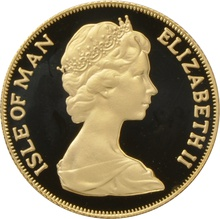 1979 Gold Sovereign - Elizabeth II Decimal Portrait - Isle of Man Proof