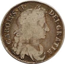 1673 Charles II Halfcrown - Fine