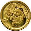 1995 Twentieth Ounce Gold Chinese Panda