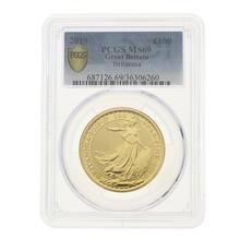 2019 Britannia One Ounce Gold Coin PCGS MS69