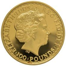 2005 One Ounce Proof Britannia Gold Coin