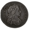 1683 Charles II Sixpence