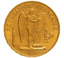 1875 20 French Francs - Guardian Angel - A