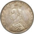 Victoria Double Florin - Extra Fine