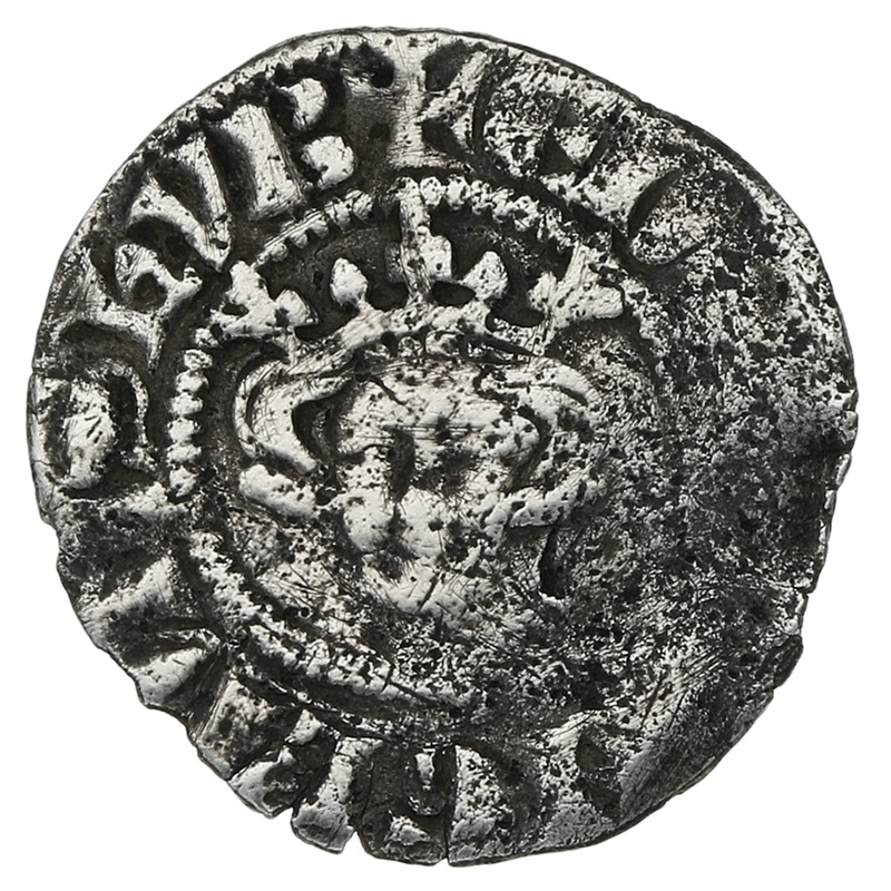 1272-1307 Edward I Hammered Silver Halfpenny