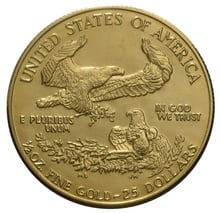 2000 Half Ounce Eagle Gold Coin