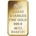 PAMP 10oz Gold Bar Minted