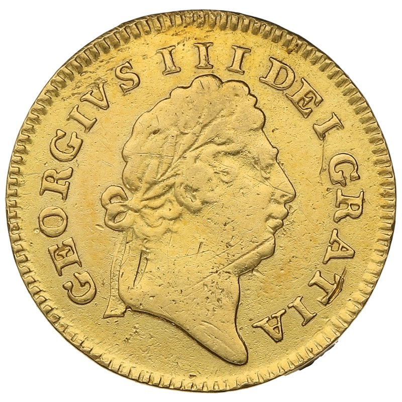 1802 George III Gold Third Guinea