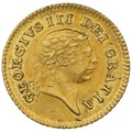 1806 George III Gold Third Guinea