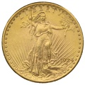 1924 $20 Double Eagle St Gaudens Head Gold Coin Philadelphia