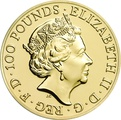 2016 Royal Mint 1oz Year of the Monkey Gold Coin