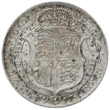 1917 George V Silver Halfcrown