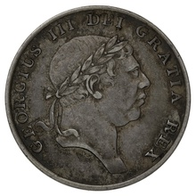 1816 George III Silver Eighteenpence Bank Token