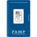 PAMP Rosa 2.5 Gram Silver Bar Minted