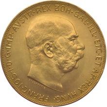 Gold Austrian 100 Coronas