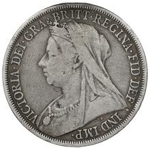 1893 Queen Victoria Silver Crown