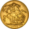 1926 Gold Sovereign - King George V - M NGC MS60