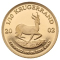2002 Proof Tenth Ounce Krugerrand