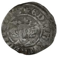 1279-1307 Edward I Silver Penny Durham Class 10ab