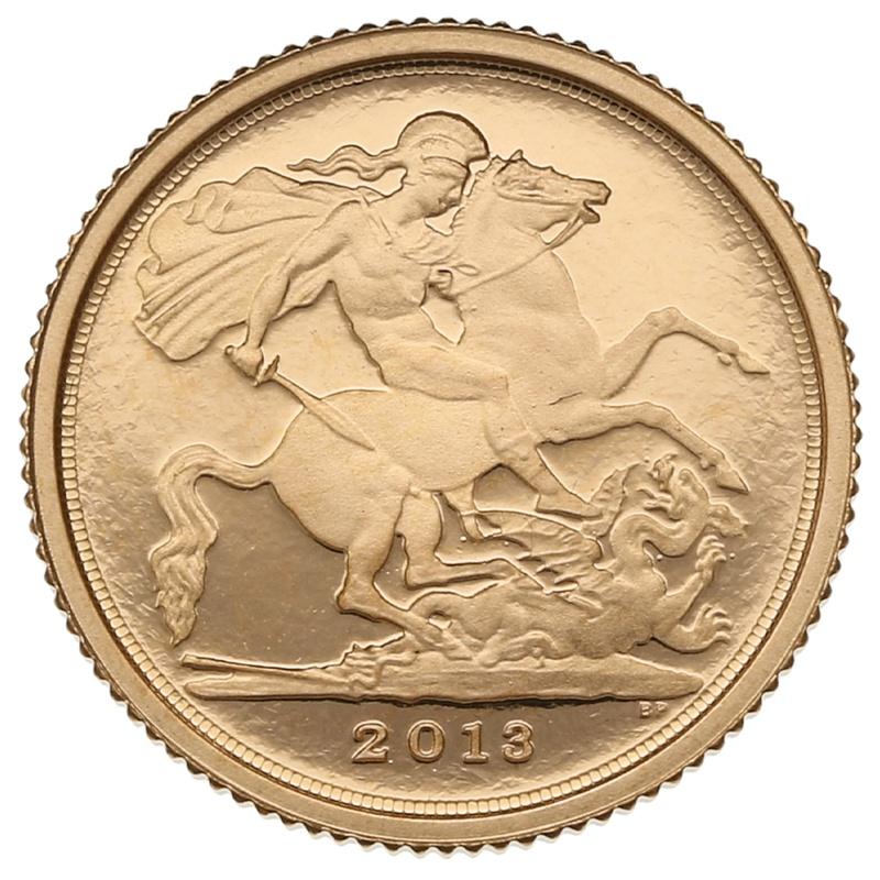 2013 Proof Quarter Sovereign